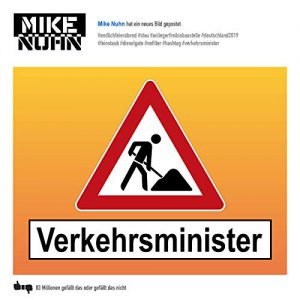 Single Cover Vekehrsminister